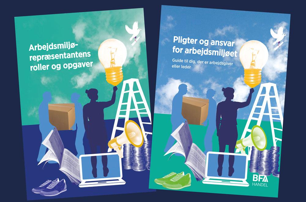 BFA Handel har udarbejdet to vejledninger om roller og ansvar i det daglige arbejde for et godt arbejdsmiljø i butikken.